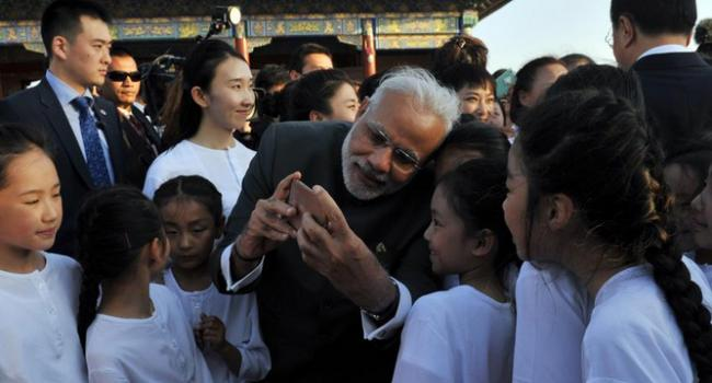 Prime Minister Narendra Modi and Premier Li Keqiang's
