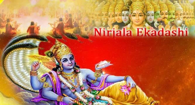 Nirjala Ekadashi 2015 today