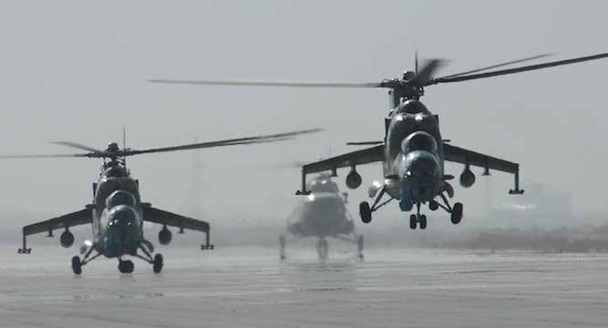 Pak to buy four MI 35 attack helicopters from Russia - News Nation