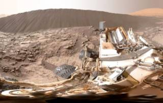 Mars Curiosity rover finds sand dunes similar to those found in Namib Desert