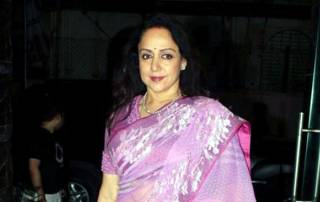 It's time to hear bhajans from Hema Malini now