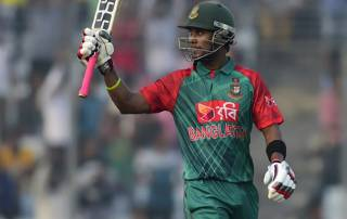 Sabbir Rahman helps Bangladesh ease past Zimbabwe in 1st T20