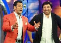 Sunny Deol enjoys promotions at Salman Khan's show