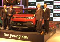 Mahindra's compact SUV KUV100 launched in Bhopal