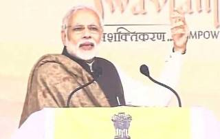 Govt committed to welfare of dalits: PM Modi in Varanasi