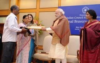 25 children receive Bravery Awards from PM Modi