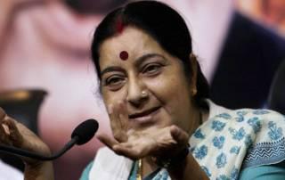 Rohith Vemula was not a dalit, says Sushma Swaraj