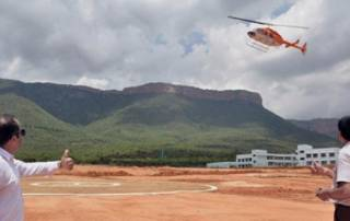 Goa tourism corp starts commercial ops of helicopter joy rides