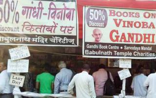 Gandhi books worth around Rs 2.5 lakh sold in a week