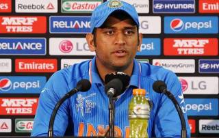No international retirement in sight for Dhoni