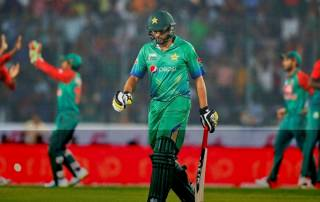 Afridi returns home after Asia Cup exit