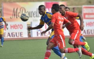East Bengal rally through Ranti hat-trict to beat Aizawl