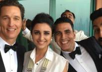 Bolly-Holly Pic: Parineeti Chopra, Matthew McConaughey, Akshay Kumar, Abhishek Bachchan!