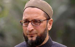 Asaduddin Owasi flayed in Parlilament over 'Bharat mata' remark