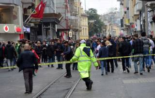 Istanbul suicide attack: 5 dead, 20 hurt including bomber