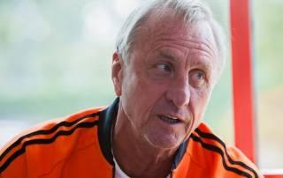 Dutch football legend Johan Cruyff dies of cancer aged 68
