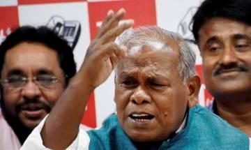 Manjhi takes U-turn on merger of LJP, RLSP and HAM(S)