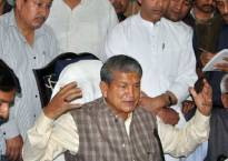 Harish Rawat accuses BJP of luring Congress MLAs; BJP rubbishes charge