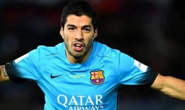 Suarez double salvages Barca against 10-man Atletico