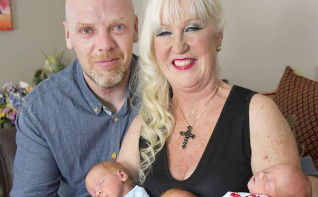 A 55 Year Old Woman Has Become Britains Oldest Mother Of Triplets After Undergoing IVF Treatment Glam Sharon Cutts Grandmother Four Gave Birth To