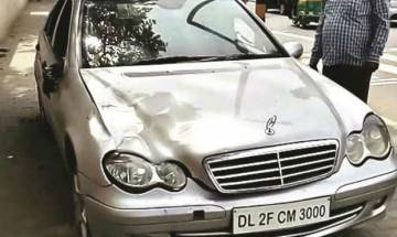 Mercedes hit-and-run: Car owner held in north Delhi's Civil Lines area