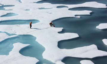 Ice-free summers were once a reality at North Pole: study