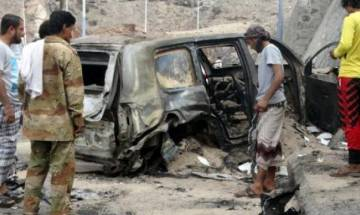 Suicide bomber kills 5 Yemen army recruits in Aden: official