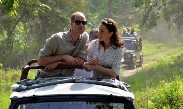 Prince William, Kate Middleton visits Kaziranga National Park in jeep safari