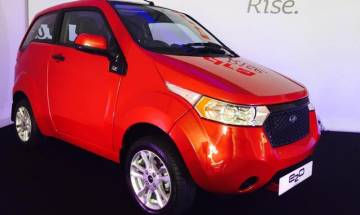 Mahindra launches electric car 'e2o' in UK