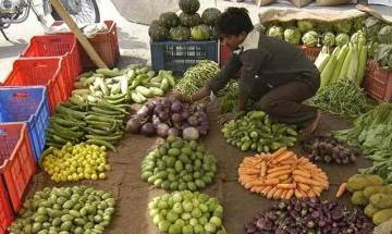 Inflation in negative zone for 17th month, at -0.85 pc in March
