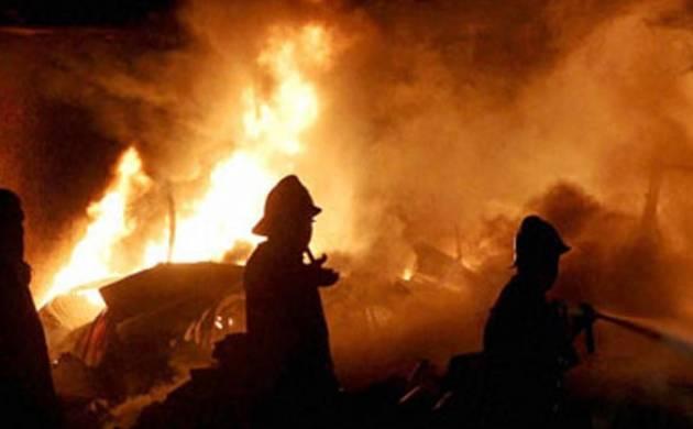 Fire accident in Bihar's Aurangabad