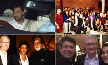 Shah Rukh Khan hosts dinner for 'rockstar' Tim Cook