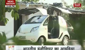 Exclusive: Lalit Kumar, engineer from a village in Delhi, builds Pixy Hybrid Smart Car