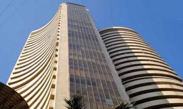 Sensex edges lower 38 points on global cues, weak rupee