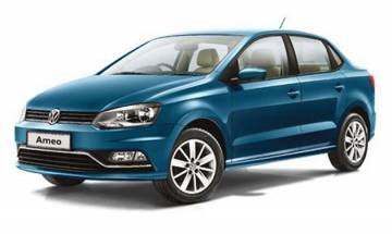 Volkswagen rolls out first 'made for India' compact sedan Ameo from Pune plant