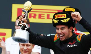 Monaco Grand Prix: Perez grabs 3rd spot, gives Force India 4th ever podium finish
