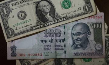Rupee slips 10 paise to 67.26 on dollar demand