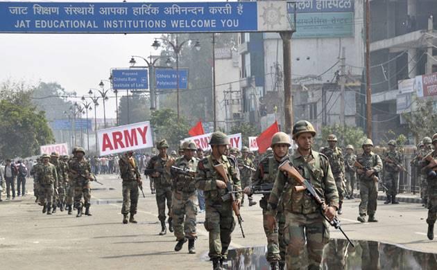 Security tightened in Delhi-Haryana border areas