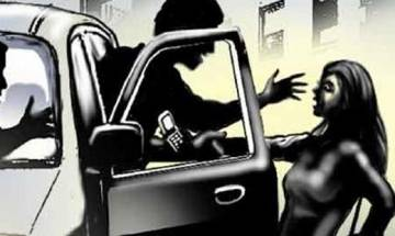 Woman alleges gangrape by three in a moving car