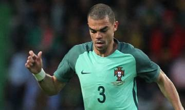 Euro Cup 2016: Pepe misses Portugal training with muscle problem