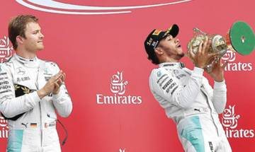 British Grand Prix: Hamilton wins to narrow Rosberg lead