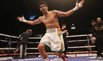 Star boxer Vijender Singh wins WBO Asia Pacific Super Middleweight title