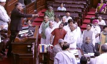 RS adjourns thrice as Opposition protests attacks on Dalits in Gujarat