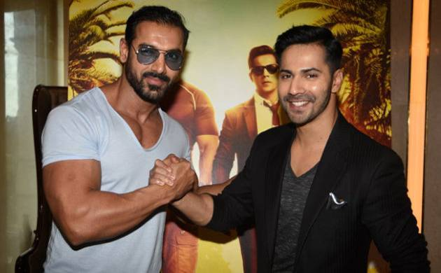 John Abraham and Varun Dhawan
