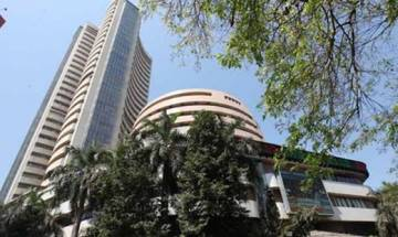 Ahead of GST Bill verdict in Rajya Sabha, Sensex dips 284 points