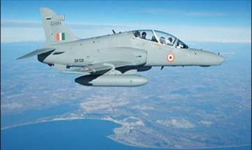 Air Force Hawk jet trainer crashes after take-off in Bengal, pilots safe
