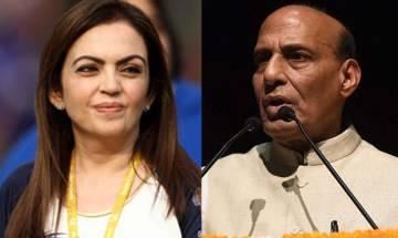 Top stories at 9 PM: Rajnath's SAARC meet, Nita Ambani joins IOC and more