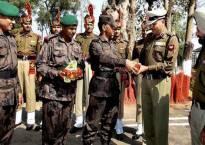 Indo-Bangladesh forces celebrate Independence Day, Raksha Bandhan