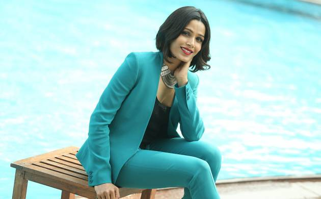 File Photo: Actress Freida Pinto posing during a profile shoot in New Delhi, India.(Source: Getty Images)