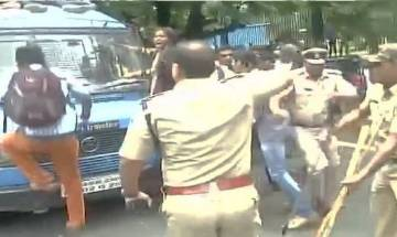 ABVP workers demand action on those who raised anti-India slogans